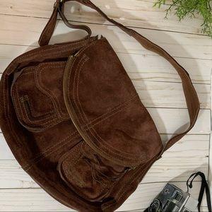 Lucky Brand Leather Bag Brown